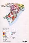 1993-2509-1 Ringband met plattegronden van de WEB-districten van de Roteb, met gegevens over de huisvuilophaaldienst, ...