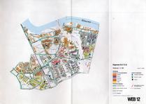 1993-2509-12 Ringband met plattegronden van de WEB-districten van de Roteb, met gegevens over de huisvuilophaaldienst, ...
