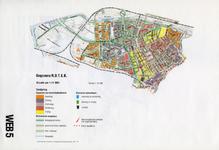 1993-2509-5 Ringband met plattegronden van de WEB-districten van de Roteb, met gegevens over de huisvuilophaaldienst, ...