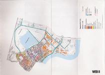 1993-2509-8 Ringband met plattegronden van de WEB-districten van de Roteb, met gegevens over de huisvuilophaaldienst, ...