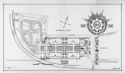 1993-2731 Plattegrond van het tentoonstellingsterrein van de Nenijto in 1928