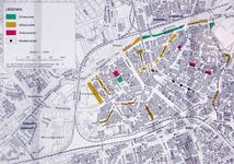 1995-102 Kaart van hondenuitlaatzones in de deelgemeente Noord