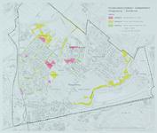 1995-103 Plattegrond van de deelgemeente Hillegersberg-Schiebroek met aanduiding van de hondenuitlaatzones