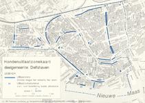 1995-104 Kaart van hondenuitlaatzones in de deelgemeente Delfshaven