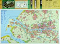 2001-35 Kaart van Rotterdam en omgeving met vermelding van de CBS-buurten