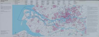 2001-63 Kaart van Rotterdam en omgeving met buurtnummers (CBS)
