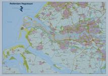 2005-535 Kaart van de Stadsregio Rotterdam