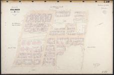 40110-Z20 Kadastrale kaart van Kralingen, sectie G, 1e blad: Kralingen-Noord-West. Het gebied wordt begrensd door de ...