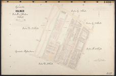 40110-Z22 Kadastrale kaart van Kralingen, sectie F, 1e blad (van twee bladen: Kralingen ten zuiden van de ...