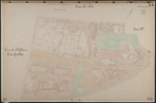 40110-Z6 Kadastrale kaart van Rotterdam, sectie Q, 1e blad: het Nieuwe Werk. Het gebied wordt begrensd door de ...