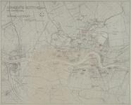 I-213 Kaart van Rotterdam en omgeving met daarop ingetekend de namen van de stadswijken, buurten, etc.
