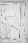 II-136 Kaart behorende bij de voorwaarden en bepalingen van openbare verkoop van 58 percelen open grond en 1 perceel ...