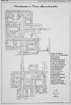 II-162-00-00-09 Kaart met namen van nieuwe straten in Het Lage Land (westelijke gedeelte). Het afgebeelde gebied wordt ...