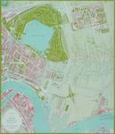 II-162-00-00-10 Plattegrond van Rotterdam-Oost