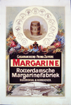 G-0000-0542 Gegarandeerd prima zuivere margarine. Rotterdamsche margarinefabriek Bloemendal & Kerkhoven.