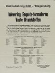 IA-1940-0069 Inlevering enquête-formulieren vaste brandstoffen. Distributiekring 330. Burgemeester Van Kempen van ...