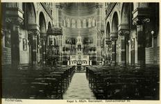 PBK-1986-7-7-TM-12 Boekje met afbeeldingen van het interieur van 18 rooms-katholieke kerken, waarvan 6 afgebeeld. Van ...