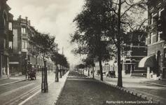 PBK-2005-357 Avenue Concordia, uit het noordoosten gezien, vanaf de Oudedijk. De eerste straat is de kruising met de ...