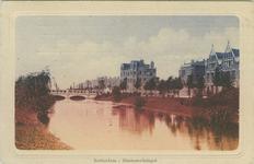 PBK-2007-397 Gezicht op de Heemraadssingel. Op de achtergrond de Heemraadsbrug en het gebouw van het Rotterdamsch ...