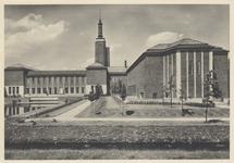 PBK-4612 De achterzijde van Museum Boijmans aan de Mathenesserlaan, uit het zuiden gezien.