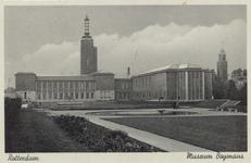 PBK-4616 Museum Boijmans Van Beuningen aan de Mathenesserlaan vanuit het zuiden.