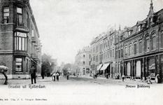 PBK-665 Gezicht op de Nieuwe Binnenweg. Links het begin van de Duyststraat.