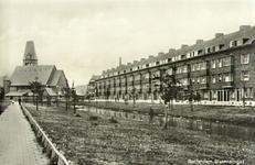 PBK-7860 Statensingel. Links op de achtergrond de Nederlandse Hervormde Prinsekerk aan de Schepenstraat.