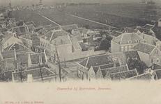 PBK-8464 Overschie gezien vanaf de toren van de Nederlandse Hervormde Grote Kerk aan de Overschiese Dorpsstraat op de ...