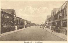 PBK-8704 Straatgezicht Hoofdlaan te Schiebroek.