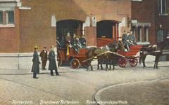 PBK-8840 Rotterdam. Brandweer. Reservebrandspuithuis.