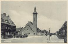 PBK-9772 Gezicht in de Rozenlaan met Oranjekerk, Schiebroek