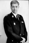 P-020547 Portret van J.W. Brinkman, korpschef van de Gemeentepolitie Rotterdam.