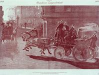 1984-2026 Gedenkplaat van de 35 jaar brandweer Zaagmolenkade, ter gelegenheid van de jubileumviering op 8 september ...
