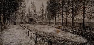 1985-1636 Plantsoen in Tuindorp Heijplaat (vermoedelijk tussen Heijplaatstraat en Mijdrechtstraat).