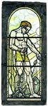2000-248 'Scheepvaart' met hoofdfiguur 'Neptunus' omgeven door de stroomgodinnen van Maas en Rotte, een visser en een ...