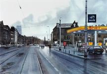 2001-2439 Gezicht vanuit het westen op de Vierambachtsstraat met rechts de Claes de Vrieselaan.
