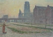 IX-1442-01-23 Hoogstraat ter hoogte van de Botersloot, uit het zuidoosten.