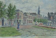 IX-3311-02-16-06 Oostelijk deel van de Van der Werffstraat, gezien naar het oosten. Links de hoek met de Meermanstraat, ...