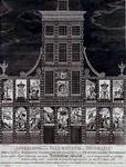RI-1441-I 8 maart 1788Afbeelding van de illuminatie en decoratie van het huis der Oprechte Vaderlandse Sociëteit op het ...