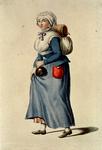 RI-1485-11 Dame in kledij.
