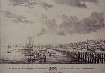 RI-1540-I Het vertrek der Veldschutterij van Rotterdam, waaronder een groot aantal vrijwilligers, in het jaar ...