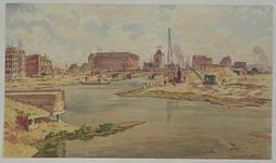 VII-543-24 Wijnhaven, uit het westen.