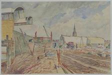 XVII-19-109-1 De sloop van het oude station.
