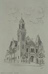 XVIII-314-02 De Remonstrantse kerk, gezien uit het oosten.