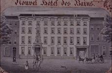 XXIV-6 Maashotel aan de Boompjes (Hotel des Bains, New Bath Hotel).