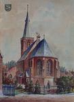 1971-2228 Gezicht op de Nederlands Hervormde Kerk aan de Kerksingel te Ridderkerk.