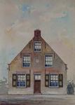 1971-2229 Voorgevel van een huis aan de Kerksingel te Ridderkerk.