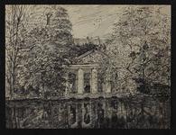 XXV-584-00-00-00-00-01 Gezicht op een tuinkoepel aan de Schiedamsesingel. De koepel is in 1923 afgebroken om plaats te ...