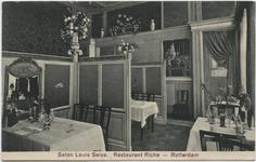 PBK-10538 De salon Louis Seize in restaurant Riche aan de Korte Hoogstraat.
