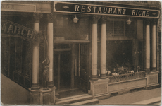 PBK-10539 Restaurant Riche aan de Korte Hoogstraat nummer 11.